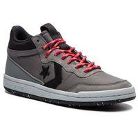 Sneakersy CONVERSE - Fastbreak Mid 162554C Cool Grey/Black/Cool Grey, kolor szary