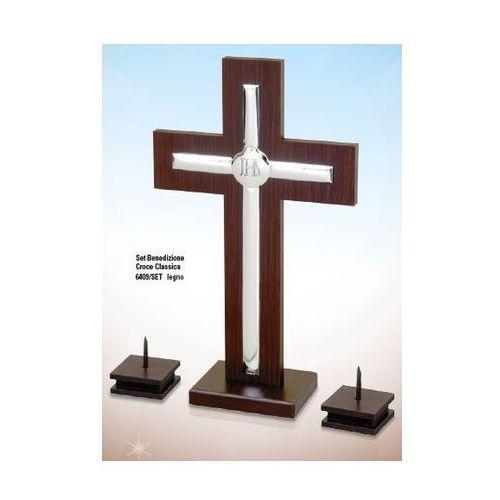Komplet krzyż i świecziki - (BC#6409_SET) ()