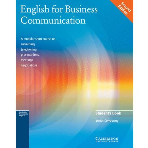 English for Business Communication, Student's Book (podręcznik), oprawa miękka