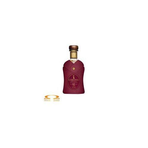 Whisky cardhu 12 yo 0,7l w skórzanym opakowaniu edycja limitowana marki Classic malts of scotland
