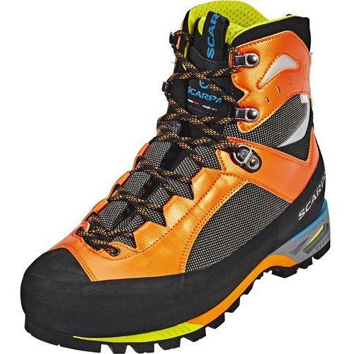 Scarpa charmoz od buty mężczyźni szary/pomarańczowy 41,5 2018 buty górskie