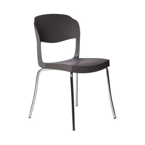 Krzesło evo strass grafitowe marki Green