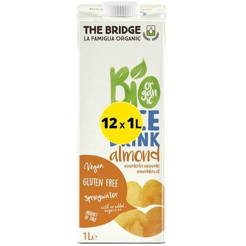 Napój Ryżowy z Migdałami BEZ GLUTENU 12 x 1L The Bridge EKO (9,00 za 1l)