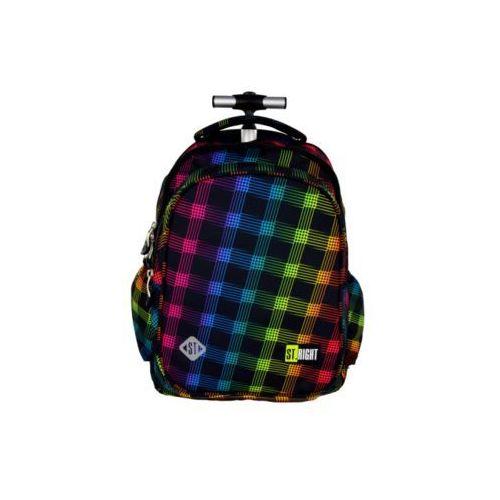Majewski  plecak na kółkach tb1 neon squares darmowy odbiór w 20 miastach! (5903235612145)