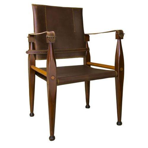 Authentic models krzesło bridle leather campaign mf122