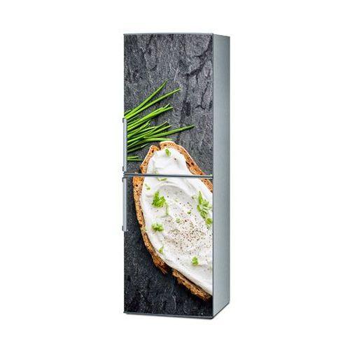 Mata magnetyczna na lodówkę - kanapka ze szczypiorkiem 4256 marki Stikero
