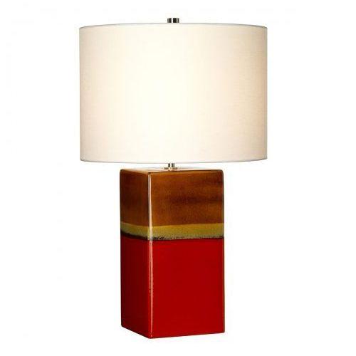 Elstead Alba rouge nocna alba/tl rouge 60cm ceramika-czerwony-kremowy