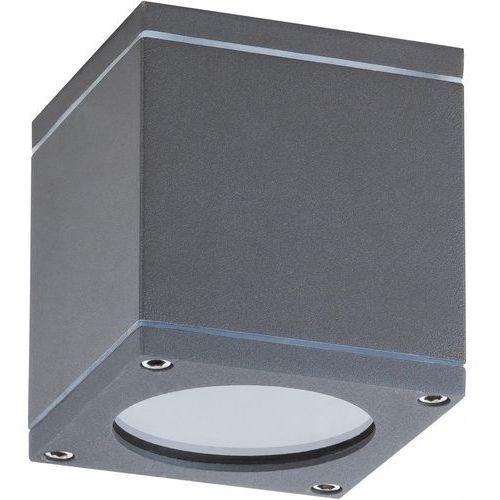 Kinkiet Rabalux Akron 8149 lampa ogrodowa zewnętrzna 1x35W GU10 IP54 czarny (5998250381497)
