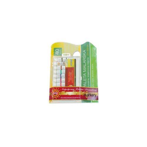 Zestaw prezent farby olejne 10kol+paleta zrywalna marki Koh-i-noor