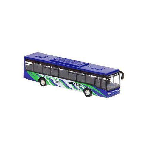 die-cast pullback bus marki - unknown