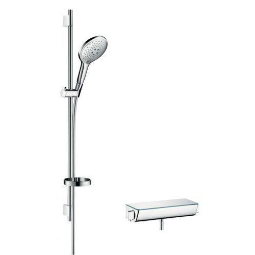 HANSGROHE Raindance Select S zestaw prysznicowy 150 z termostatem Ecostat Select i drążkiem 90 cm, kolor Chrom 27037000 (4011097679310)