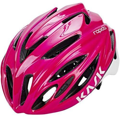 rapido kask rowerowy różowy m | 52-58cm 2018 kaski miejskie i trekkingowe marki Kask