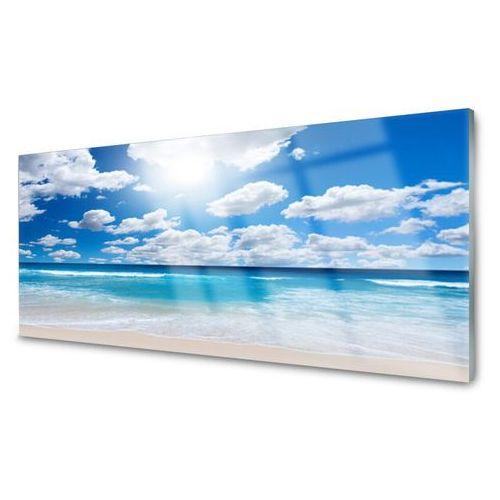 Tulup.pl Panel kuchenny morze plaża chmury krajobraz