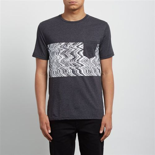 Koszulka - lofi hth ss heather black (hbk) rozmiar: l marki Volcom