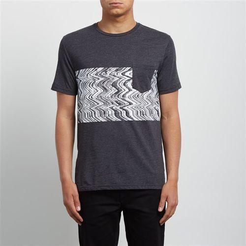 koszulka VOLCOM - Lofi Hth Ss Heather Black (HBK) rozmiar: S, 1 rozmiar