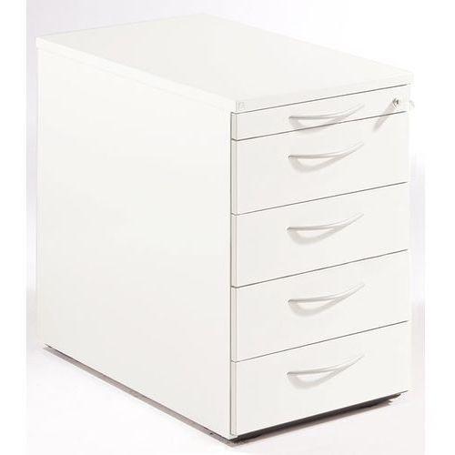 Fm büromöbel Thea - kontener stacjonarny, szuflada na przybory, 4 szuflady na dokumenty, star
