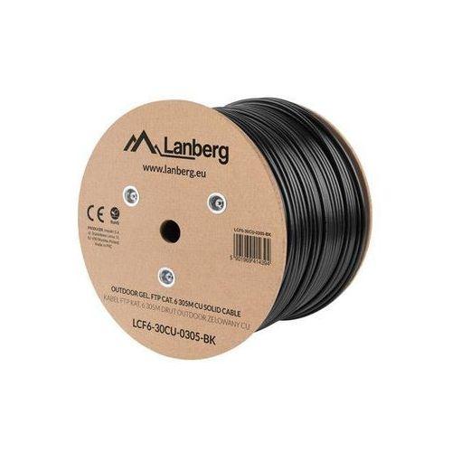 kabel ftp kat.6 cu 305m drut outdoor żelowany marki Lanberg