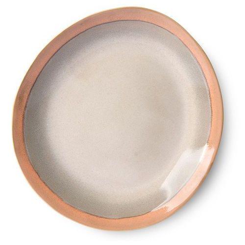 HK Living Talerz obiadowy ceramiczny 70's: earth ACE6872, ACE6872