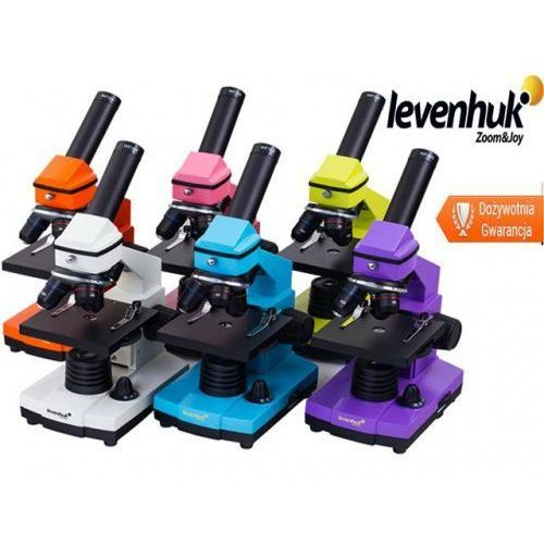 Mikroskop Levenhuk 2L NG-Seria Rainbow -6 kolorów, Levenhuk 2L NG
