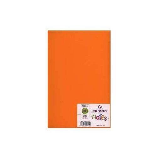 Canson Szkicownik a5 notes 50 kartek pomarańczowy (3148951277120)