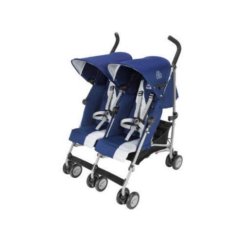 MACLAREN Wózek podwójny Twin Triumph Medieval Blue/Silver (5010902217241)
