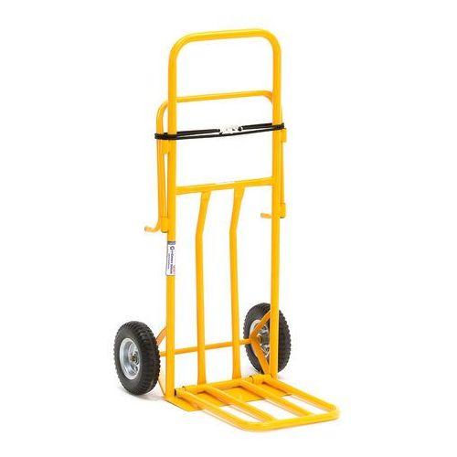 Wózek magazynowy 3 w 1 obciążenie 100 kg czarny, 24503