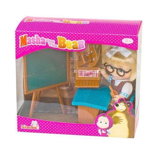 Lalka SIMBA Y287 Masza w szkolnym stroju przy tablicy - produkt z kategorii- Lalki