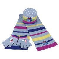 Komplet: czapka jesienna / zimowa, rękawiczki i szalik my little pony marki Cerda