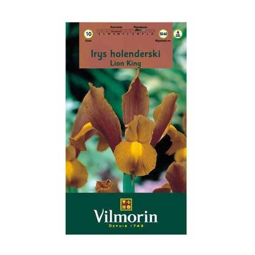 Vilmorin Irys holenderski lion king 10 szt. cebulki kwiatów (5905810133199)