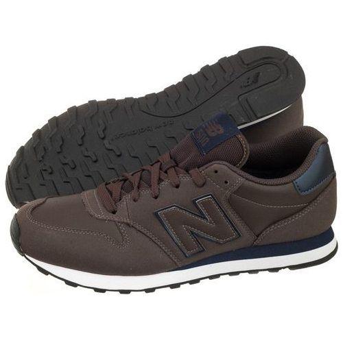 Buty New Balance GM500DBN Brązowe (NB228-a), GM500DBN