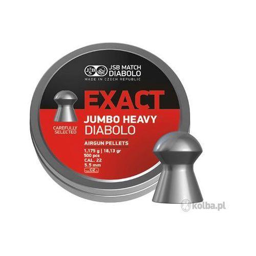 Śrut diabolo JSB Exact Jumbo Heavy 5,53 mm 500 szt.
