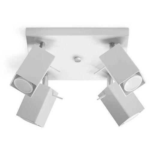 Oprawa sufitowa merida 4 biały sl.0098 - - rabat w koszyku marki Sollux