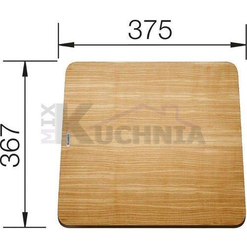Deska do krojenia Blanco z drewna jesionowego 375x367 do Zenar - 229421