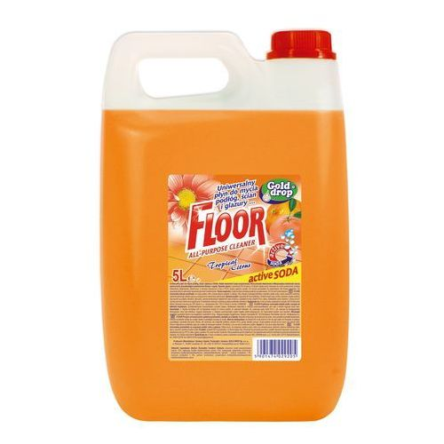 Gold drop Floor płyn uniwersalny tropical citrus 5 l (5901474029205)