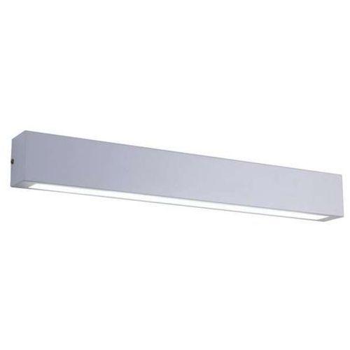 Light prestige Kinkiet lampa ścienna ibros gs-lwa-12w wh przyścienna oprawa belka led 4000k listwa nad lustro ip44 biała (5907796366547)