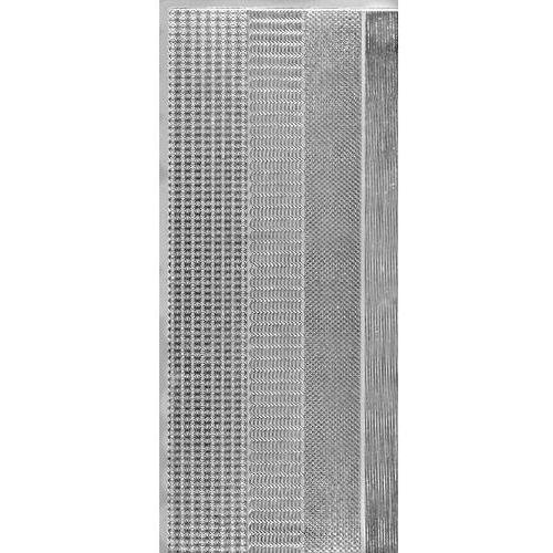 Herma Sticker srebrny 01421 - zestaw szlaczków (r675) x1