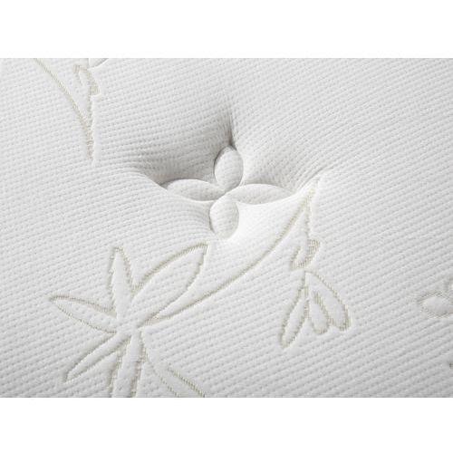 Beliani Materac kieszeniowy 140x200 cm - memory foam - multipocket - luxus