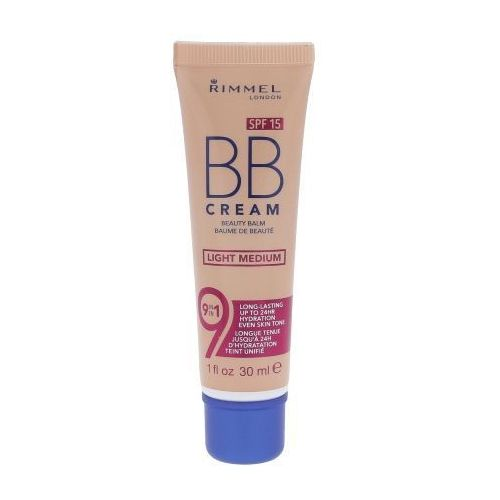 Rimmel London BB Cream 9in1 SPF15 30ml W Krem do twarzy BB Light Medium