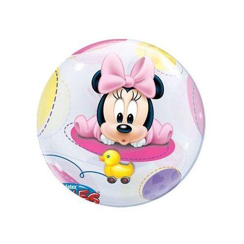 Go Balon foliowy bubble mała myszka minnie - 56 cm