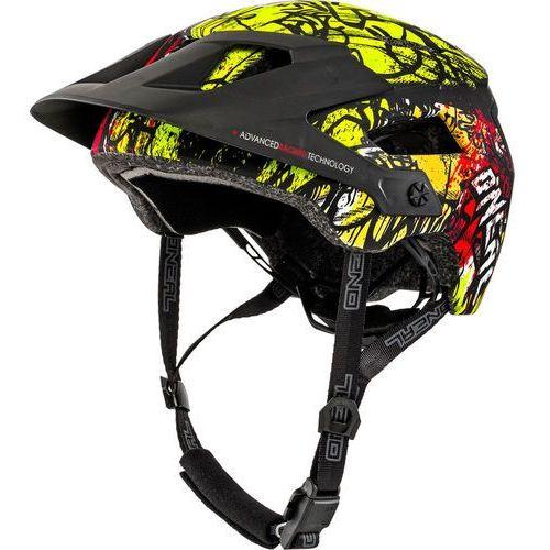 ONeal Defender 2.0 Kask rowerowy żółty/czarny L/XL | 59-61cm 2018 Kaski rowerowe (4046068495897)