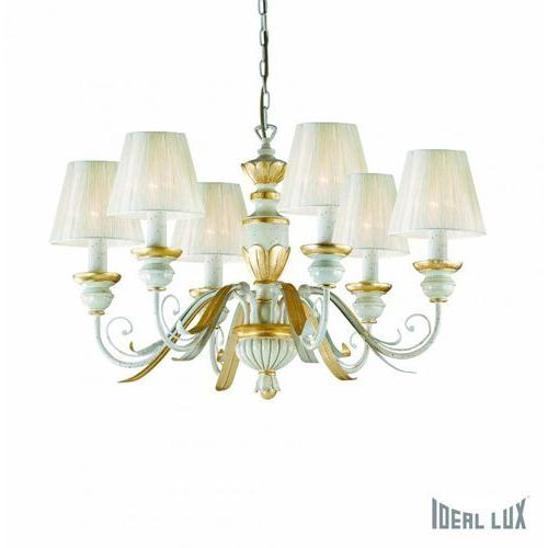Ideal Lux Lampa wisząca Flora SP6 - 052663, IL 052663