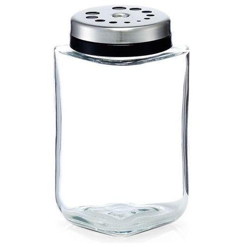 Zeller Dozownik ze szkła, pojemnik na przyprawy, szklane naczynie na sól i pieprz. (4003368196343)