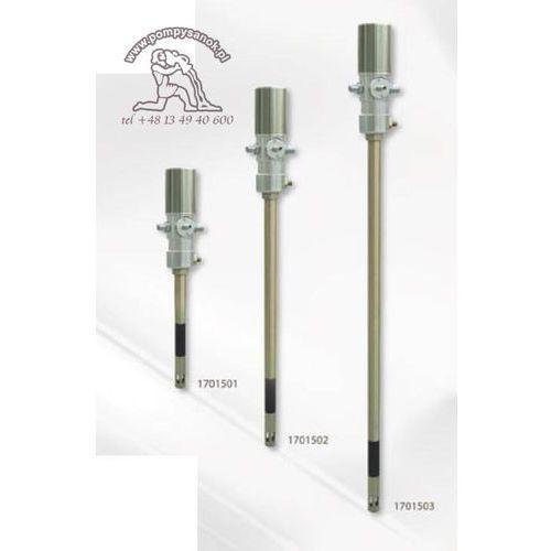Pompa pneumatyczna do rozprowadzania smarów pod dużym ciśnieniem typu 50:1