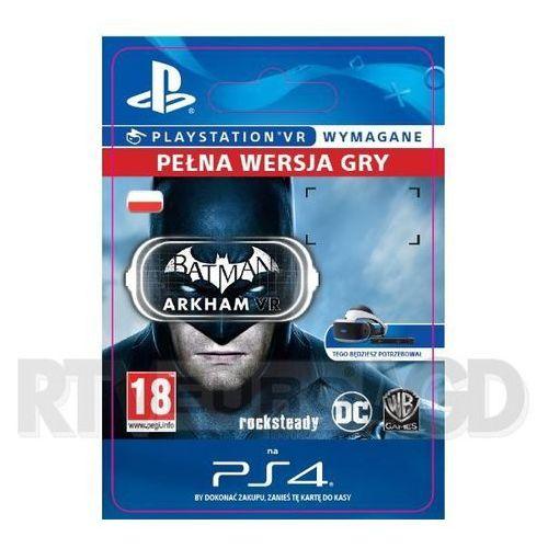 OKAZJA - Batman Arkham VR (PS4)