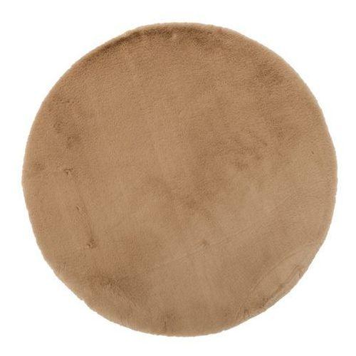 Dywan okrągły Bella 80 cm beżowy (5907736272594)