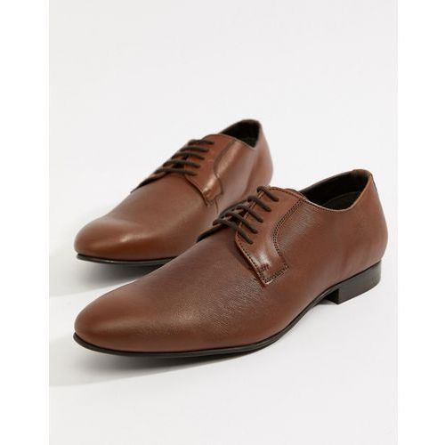 saffiano shoes in tan leather - tan, Dune