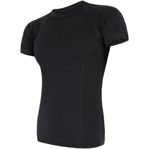 koszulka termoaktywna merino air m black m marki Sensor