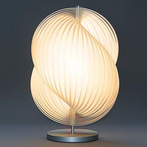 Tecnolumen escargot 2 – designerska lampa stołowa