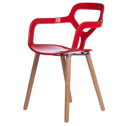 Krzesło Modern Town czerwone