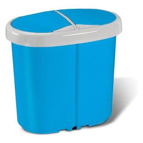 Kosz na śmieci MELICONI Multispace Duo 25L Niebieski + Zamów z DOSTAWĄ JUTRO!, 14106015234BH